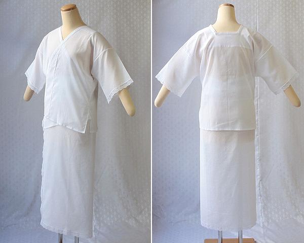 夏物和装肌着 ギザ(GIZA) 肌着と裾除けのイメージ
