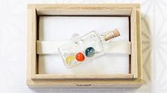 ガラス帯留め ボトル (02)