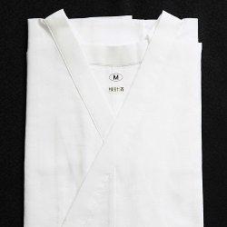 画像1: 和装肌着 さらし 共袖肌着 白(M)