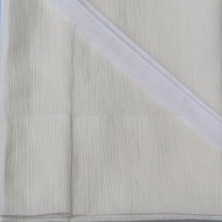 画像1: 夏物和装肌着 裾除け 本麻楊柳(M)