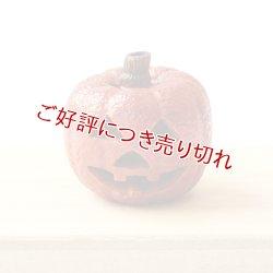 画像1: 黄楊根付 ハロウィン