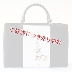 画像1: KIMONOバッグ 手描き友禅 パンダのパン屋