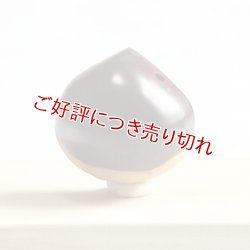 画像1: 黄楊根付 栗(中)【岡壱名入り】