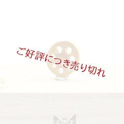 画像1: 黄楊根付 れんこん(ミニ)