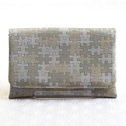 画像1: 紳士用 三つ折りポーチ ジグソーパズル