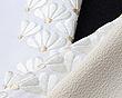 刺繍半襟 扇面菊