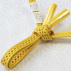 夏用羽織紐 金糸雀色(56)
