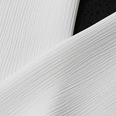 単衣用白半襟 化繊素材 ポリエステル きんち(楊柳)