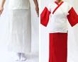 本麻楊柳裾除け・踊り袖付肌着
