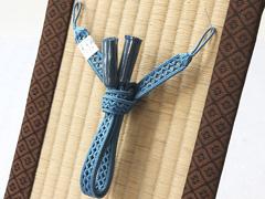 夏用羽織紐 杜若色(11)
