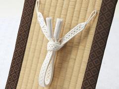 夏用羽織紐 オフホワイト(24)