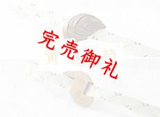 黄楊帯留め 筍
