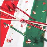 刺繍帯揚げ クリスマス