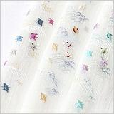 麻絽 刺繍半襟 千鳥