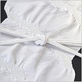 黒留袖(礼装用)帯揚げ 敷松葉に道長絞り
