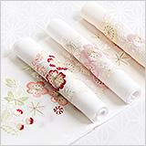 刺繍半襟 梅桜