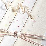 刺繍帯揚げ 桜はなびら