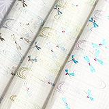 麻絽刺繍半襟 蜻蛉